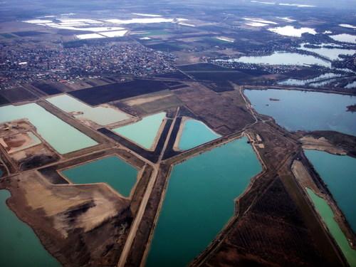 Dunavarsány légifotó